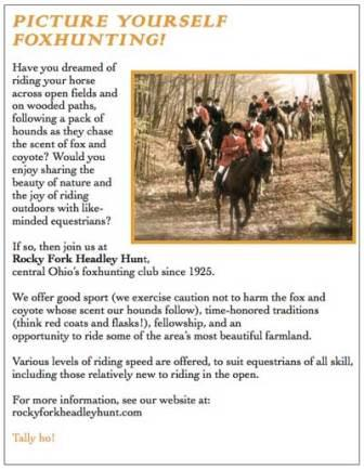 Link to Foxhunting with Rocky Fork
